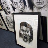 Harry Barker framed